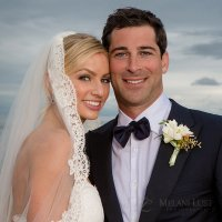 hamptons wedding montauk yacht club long island beach bride groom portrait classic