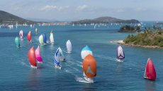 Racing during this year's Audi Hamilton Island Race Week.