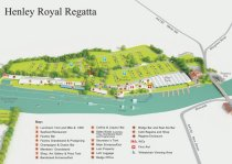 The Royal Regatta course | Image credit: Henley Royal Regatta