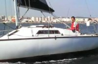 Half ton sailing boat for sale
