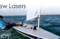 Laser sailing boats for sale