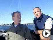 Catalina 38 OSPREY sailing Newport to Block Island.avi