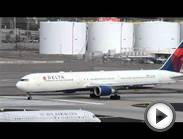 NEW ENGLAND PATRIOTS Charter Delta Airlines Boeing 767