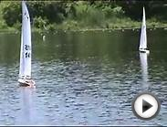 "On the water racing ""Dry Pants Yacht Club"" in Deep River CT"