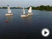 Quick Fly Over of Cooper River Yacht Club in 4k